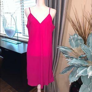 Other - Beautiful bright pink 100% silk sleep chemise